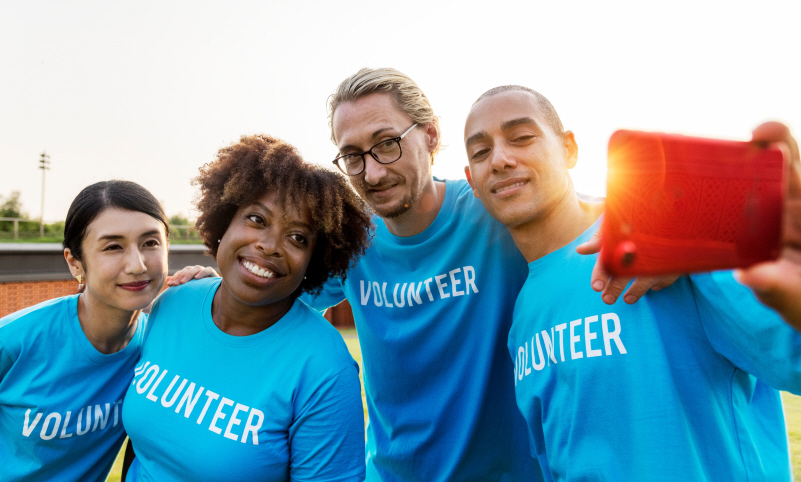 Volunteering is good for your health, happiness and CV